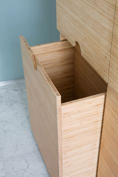 Drømmebad i to rom Storage Chest, Design, Interiors, Bathroom, Home Decor, Bamboo, Rome, Bath Room, Homemade Home Decor