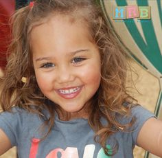 Dad: Caucasian  Mom: African American McKayla- 2 years