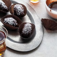 Chocolate Covered Coconut Stuffed Dates Recipe (Raw, Vegan, Gluten-Free, Paleo)
