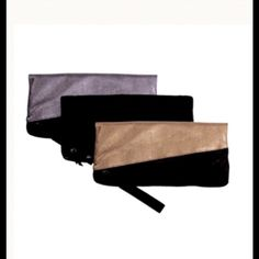 Lia Larrea Tara Clutch 4-in-1 (Gold/Black) Lia Larrea - 4-in-1 Tara Clutch (Gold/Black) Lia Larrea Bags Clutches & Wristlets