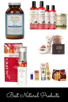 Holiday Gift Guide: Natural Beauty Products  Recommended by: DanCamacho.com/products