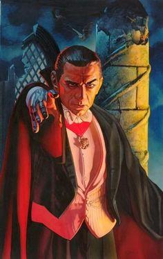 Monster Toys, Monster Art, Gothic Horror, Horror Art, Vampire Dracula, October Art, World Of Darkness, Halloween Pictures, Halloween Ideas