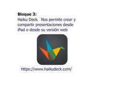 Haiku Deck. Presentaciones secillas y efectivas