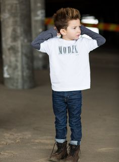 Model Toddler T-shirt by BlakcApparel on Etsy