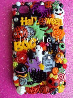 kawaii halloween decoden, luxyloli.etsy.com