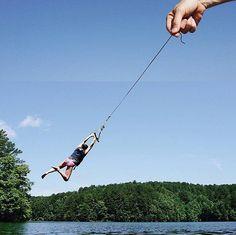 String + Rope Swing