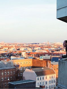 Because there are no more nice views from a terrace in spring as in Berlin #berlin