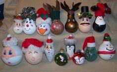Une vue d'une décoration pour Noël DIY