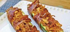 Bacon-Kip Gevulde Courgette - Paleo Recepten