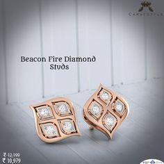 Love me and the world is mine.  #earring #diamond #goldearring #diamondearring…