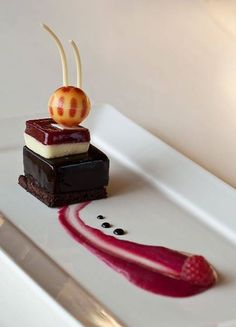 Plated Desserts at the Canadian Intercollegiate Chocolate Competition