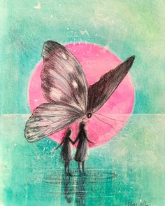 Graphic Prints, Art Drawings, Butterfly, Artists, Abstract, Artwork, Painting, Kunst, Summary