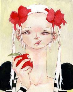 July FlairIllustration - Shannon Toth: Apple Aristocrat