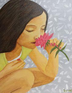 Erin Stefanak's Art: Sweet Lilly