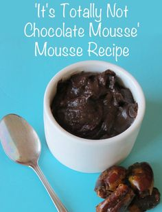 The 'It's Totally Not Chocolate Mousse' Mousse Recipe | Childhood101