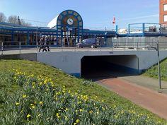 Net weer met de trein aangekomen in Heerenveen
