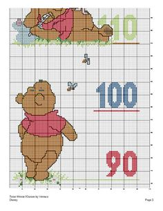 Pooh Height Chart 4/4