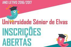 Abertas as inscrições para a Universidade Sénior   Portal Elvasnews