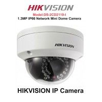 HIKVISION DS-2CD2110-i IP CCTV Camera (Network Mini Dome Camera)  Best feature of this gadgets  HIKVISION DS-2CD2110-i IP CCTV Camera (Network Mini Dome Camera) 1.3MP (1280 x 960) high resolution Full HD 720p real-time video Up to 30m IR visibility True day/night 3D DNR & DWDR & BLC IP66 rating Vandal-proof housing only @4,990/-