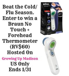 I'm super excited to bring you this AWESOME contest hosted by Growing Up Madison. I sure could have used one of these about a week ago when everyone in my home had the flu except for me.  It's toug...