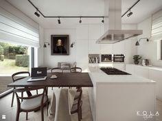 Kuchnia Eklektyczna - zdjęcie od KOLA Studio Wizualizacje Architektoniczne - Jadalnia - Styl Eklektyczny - KOLA Studio Wizualizacje Architektoniczne