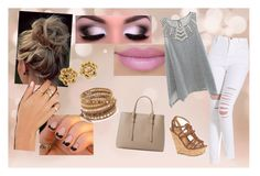 """Going Out"" by meagaboo on Polyvore featuring Delicious, MANGO, Chan Luu and Copper Key"