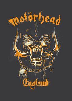 illustration work for official Motörhead product