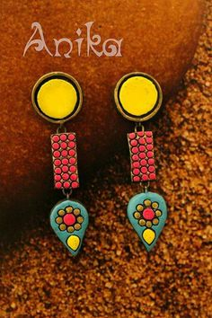 Anika terracotta jewelry