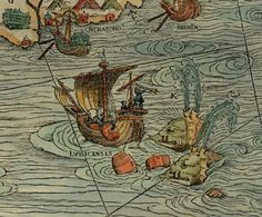 Beware the leviathan, and that also that monstrous water pig. -- So many sea monsters on this map! Delightful! http://www.atlasobscura.com/articles/can-you-spot-all-the-sea-monsters-in-this-16thcentury-map