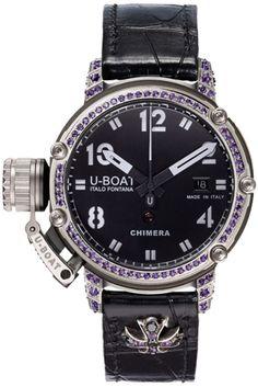 U-Boat Watch Chimera 43 925 Amethyst Limited Edition #bezel-fixed…