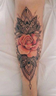 mandala design tattoo #Mandalatattoo