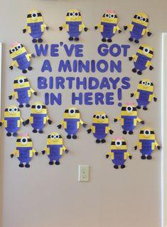 trendy ideas birthday board ideas for daycare preschool bulletin Birthday Display, Birthday Wall, Minion Birthday, Happy Birthday, Birthday Wishes, Minion Theme, Fall Birthday, Diy Birthday, Birthday Cakes