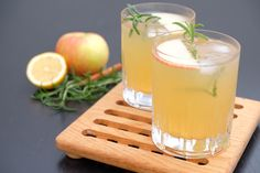 Apple Cider Gin and Tonic