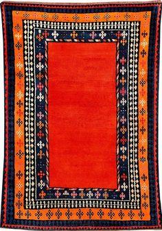 Qashqai Gabbeh, South Persia Fars-Area, circa 1900, wool/wool, approx. 184 x 130 cm