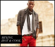 Our Stylist Loves: Mixing Hot & Cool