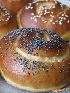 Czech Recipes, Ciabatta, Bread Rolls, Pavlova, Baguette, Bagel, Sweet Recipes, Biscuits, Food And Drink