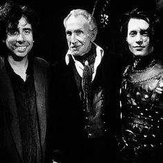 Tim Burton, Vincent Price, Johnny Depp