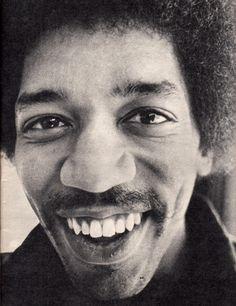 Jimi Hendrix | Keep on smilin!
