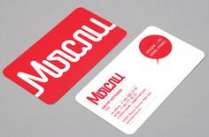 Mysli - Business Card Design Inspiration | Card Nerd