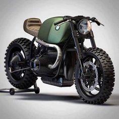 "supermoto-lifestyle: "" BMW R100 Cafe Racer """