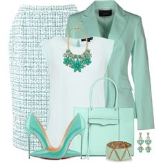 """""""Kate Spade Gardens of Paris Statement Necklace"""" by brendariley-1 on Polyvore"""