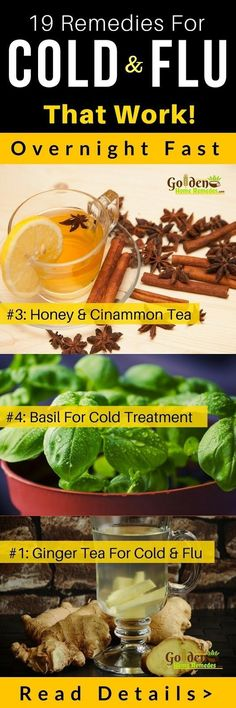 19 Home Remedies for Cold That Really work