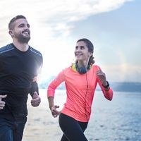 Lose weight through jogging: no sport is more effective. We have 4 plans for all A Lose weight through jogging: no sport is more effective. We have 4 plans for all A … Fitness Workouts, 30 Day Fitness, Sport Fitness, Fun Workouts, Fitness Motivation, Health Fitness, Burpees, Jogging, Couple Running
