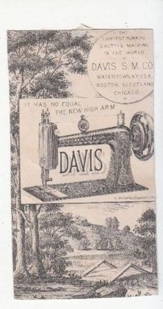 Davis-Sewing-Machine-B-W-Bridge-Anderson-Merritt-Blanchard-IA-Vict-Card-c1880s