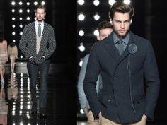 Ermano Scervino FW 2014   Milano Fashion Week Man