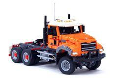 Lego Mack Granite Truck