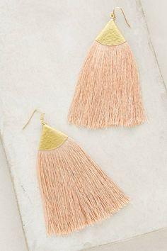 Nakamol Serenite Tassel Earrings #anthrofave