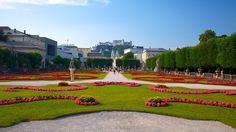 Mirabell Palace gardens, Salzburg, Austria.