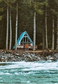 stylish Elegant Hour Cabin Design Ideas With Simplicity And Nature Surroundings Cabins For Sale, Cabins And Cottages, Log Cabins, A Frame Cabin, A Frame House, Tiny House Cabin, Cabin Homes, Log Homes, Classification Des Arts