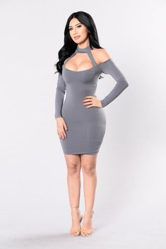 How To Look More Fashionable And Stylish Diva Fashion, Grey Fashion, Fashion Looks, Tight Dresses, Sexy Dresses, Short Dresses, Nova Dresses, Hot Outfits, Girl Outfits